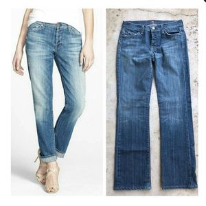 7 For All Mankind Boycut Button Fly Boyfriend Jean